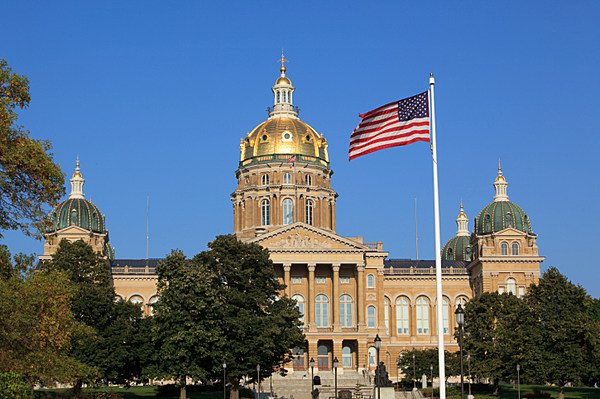 Iowa State Capitol Evacuated Due To What Local