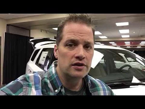 Kevin And Oiivia At The Iowa Illinois Auto Show