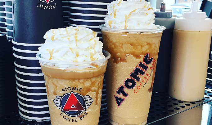Atomic Coffee Bar via Instagram