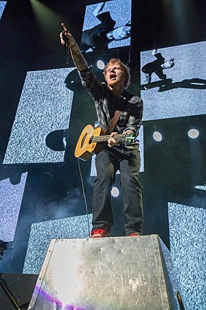 USA - Music - Ed Sheeran Performs At The Frank Erwin Center