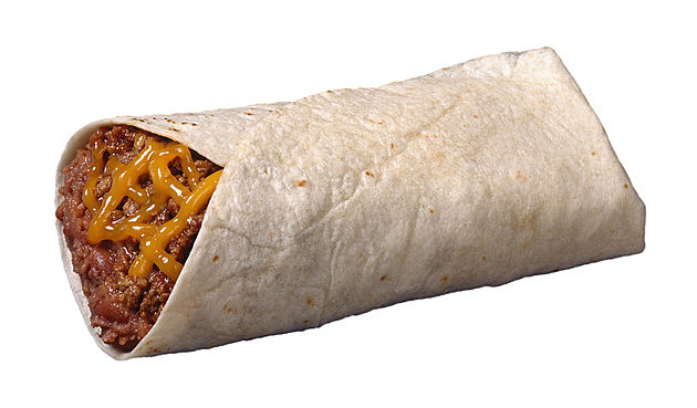 Bean and cheese burrito