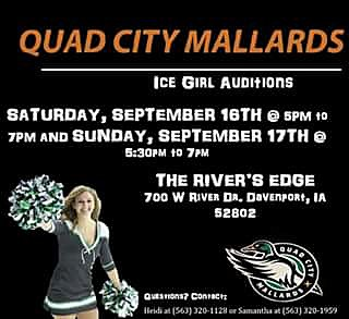 Quad City Mallards Ice Girl Facebook