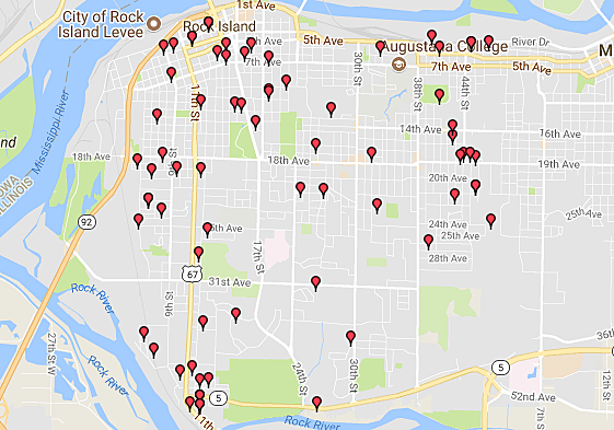 Sex Offenders in the Quad Cities Where Not to TrickOrTreat 17